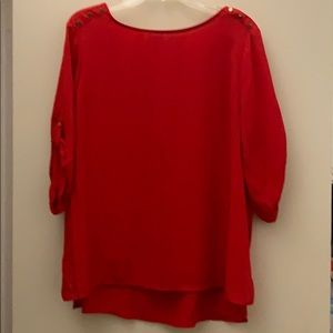 Red blouse - never worn!
